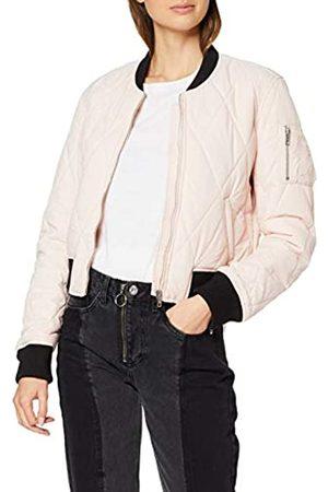 Urban classics Women's Ladies Diamond Quilt Short Bomber Jacket