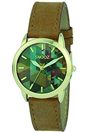 Snooz Women's Analogue Quartz Watch with Leather Strap Spa1039-80