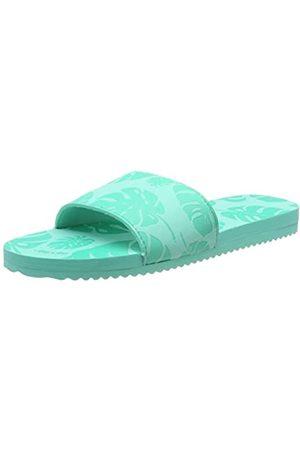 flip*flop Flip*flop Women's poolypalm Mules, (Lt Turquoise 4271)