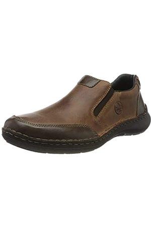 Rieker Men's Herbst/Winter Loafers, (Toffee/Tabak 26)