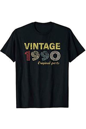 30th Birthday Vintage 1990 Gifts Vintage 1990 Original Parts Funny 30th Birthday Men Women T-Shirt