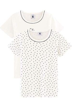 Petit Bateau Girl's Tee Shirt Mc_5118500 Vest