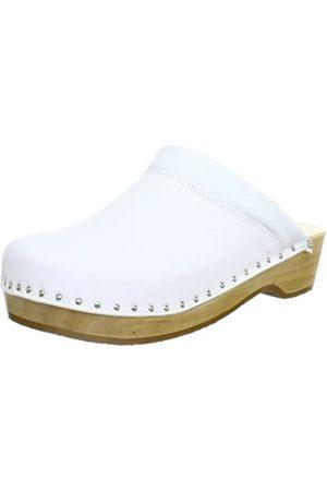 Berkemann Unisex Adult's Soft-Toeffler Clogs, - Weiß (Weiß), 47 EU