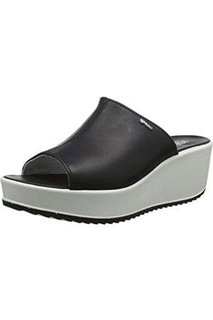 IGI&CO Women's Dcd 31730 Platform Sandals, (Nero 3173000)