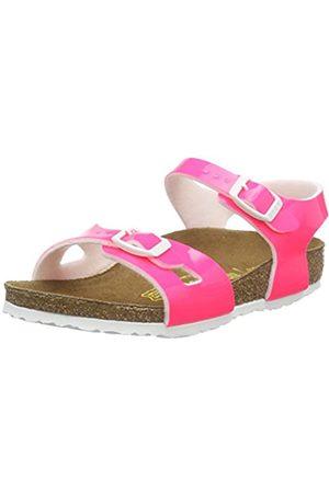 Birkenstock Rio, Unisex Kids' Open Toe Sandals, (Neon )