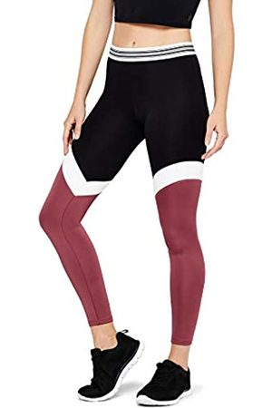 AURIQUE Amazon Brand - Women's Sports Tights, 12