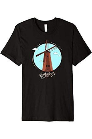 Amsterdam T-Shirts Amsterdam Netherlands Retro Shirt