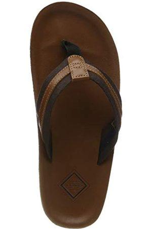 GANT Men's Breeze Flip Flops, (Cognac G45)