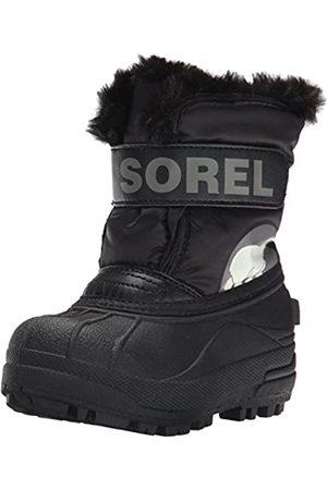 sorel Children Unisex Boots, CHILDRENS SNOW COMMANDER, (Charcoal)