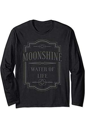 moonshine shirt Moonshine Water Of Life Tee Gift for Men moonshine t-shirt Long Sleeve T-Shirt