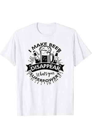 My Shirt Hub Funny Sarcastic Drinking Night Joke I Make Beer Disappear T-Shirt