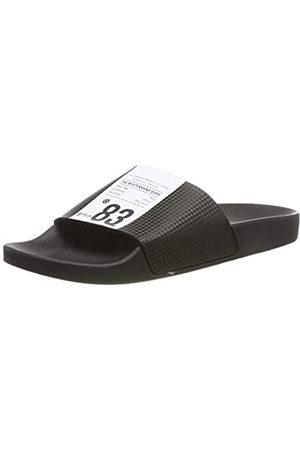 THE WHITE BRAND Men's Label Open Toe Sandals