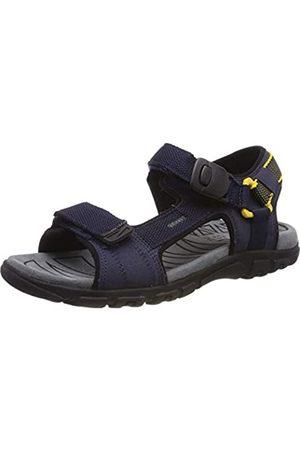 Geox Men's Uomo Sandal Strada B Open Toe, (Navy/ C0657)