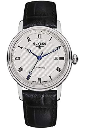 ELYSEE Unisex Adult Analogue Quartz Watch with Leather Strap 77008L
