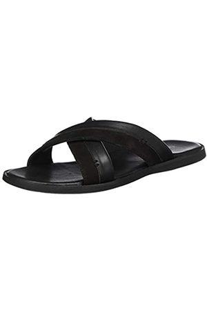 Kickers Men's Mooby Open Toe Sandals, (Noir 8)