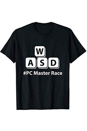 My Shirt Hub AWSD PC Master Race Funny Gift For Computer Geek Gamers T-Shirt