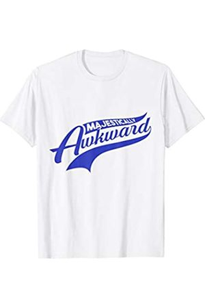 My Shirt Hub Funny Gift For Awkward Friend Majestically Awkward T-Shirt
