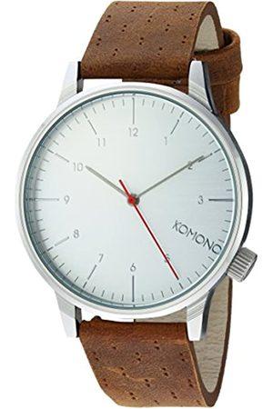 Komono Unisex Analogue Quartz Watch with Genuine Leather Strap – KOM-W2103