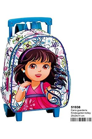 DORA Backpack with Wheels Nursery &Friends 'Glitter Free Time and Sportwear, Adult Unisex, Multicoloured