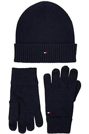 Tommy Hilfiger Men's Pima Cotton Beanie & Glove Set