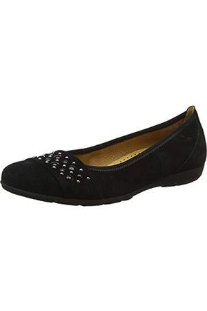 Gabor Shoes Women's Casual Ballet Flats, (schwarz 17) Black