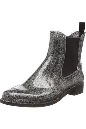 Beck Women's Glitter Wellington Boots, (Silber 15)