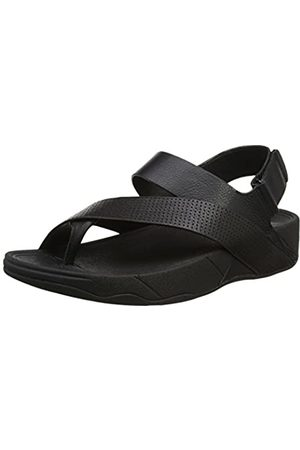 FitFlop Men's Sling Perf Leather Sandal Open-Toe, (All )