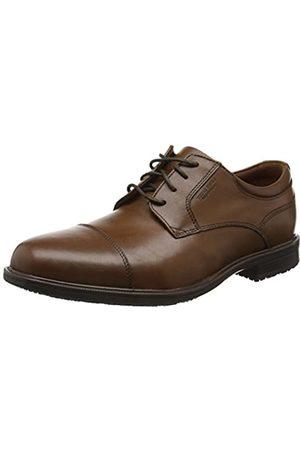 Rockport Men's Essential Detail II Captoe Oxfords, (Tan Antique Leather)