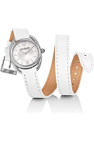 Saint Honore Women's Analogue Quartz Watch with Leather Strap 7215261AIN-W