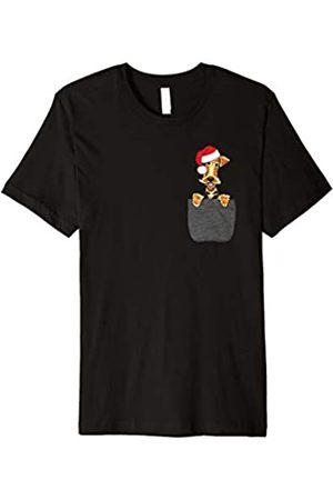 Dog Santa Hat Christmas Gift Shirts Co. Airedale Terrier Dog Santa Hat In Your Pocket Christmas Gift