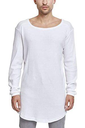 Urban classics Men's Shaped Waffle Long Sleeve Tee Longsleeve T-Shirt
