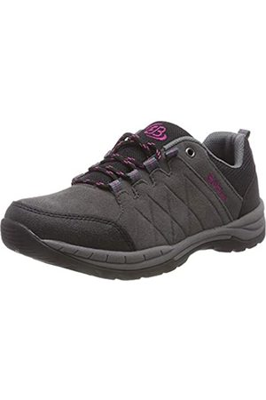 BRUTTING Bruetting Women's Walker Nordic Walking Shoes, Grau/Schwarz/
