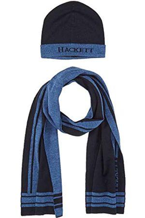 Hackett Hackett Men's Str Lg Scf&Beanie Scarf, Hat & Glove Set