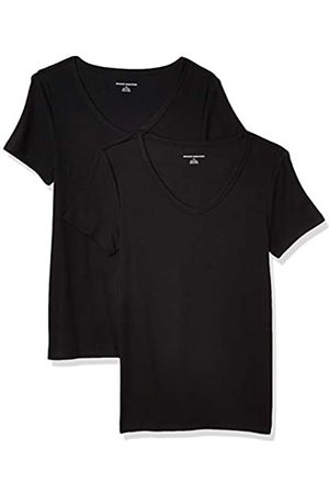 Amazon 2-Pack Slim-fit Short-Sleeve V-Neck T-Shirt