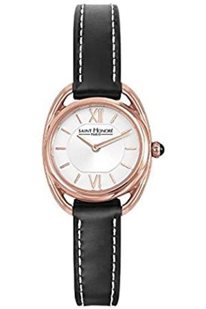 Saint Honore Women's Analogue Quartz Watch with Leather Strap 7210268AIR-BL