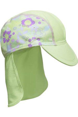 Playshoes Baby Girls' UV-Schutz Badeanzug mit Rock Krebs Hat, Turquoise-Türkis (Original 900)