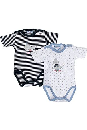 Salt & Pepper Salt and Pepper Baby Boys' BG Body Set Bodysuit