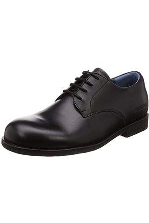 Birkenstock Men's Jaren Natural Leather Oxfords