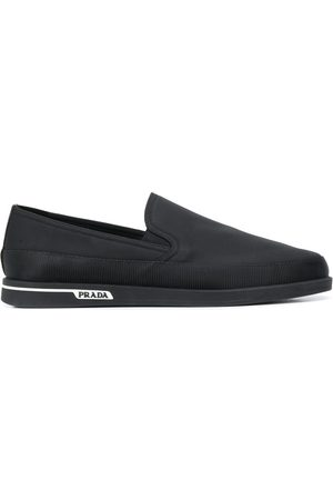Prada Side logo loafers