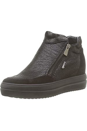 IGI&CO Women's Donna-41537 Hi-Top Trainers, (Nero 4153700)