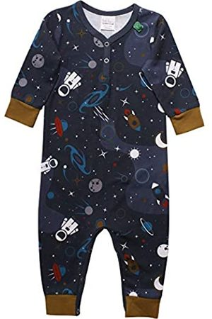 Green Cotton Baby Boys' Space Shaping Bodysuit