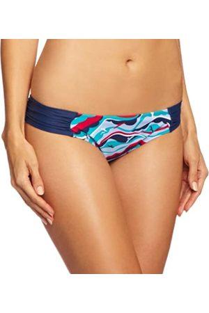 Panache Tilly Gathered Pant Women's Bikini Bird Print Size 12