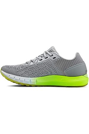 Under Armour Women's HOVR Sonic 2 Shoes, (Mod Gray/High-Vis /Onyx (100) 100)