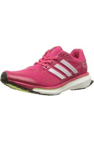 adidas Energy Boost 2, Women's Running, - (Vivid Berry S14/Pearl Metallic S14/Glow S14)