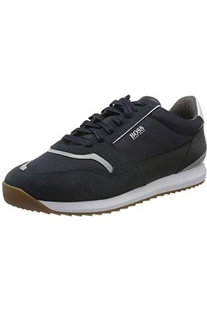 HUGO BOSS Men's Sonic_Runn_ltmx Low-Top Sneakers, (Dark 401)
