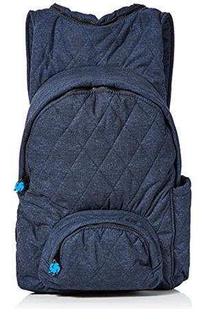 Morikukko Unisex-Adult Hooded Backpack Navy Backpack (Navy )