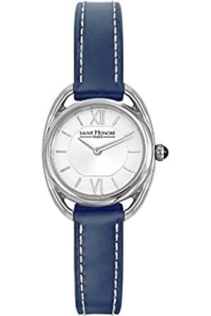 Saint Honore Women's Analogue Quartz Watch with Leather Strap 7210261AIN-BLU