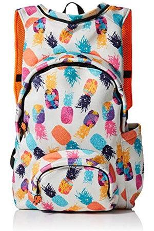 Morikukko Unisex-Adult Hooded Backpack Pineapple Backpack (Pineapple)