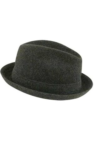 Kangol Wool Player Trilby Hat, Dark Flannel