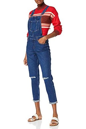 New Look Women's Relaxed Bust Knee Dungarees